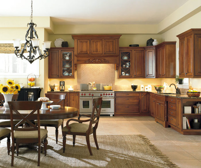 Portage Collection By Dynasty Cabinetry - Traditional - Kitchen ...