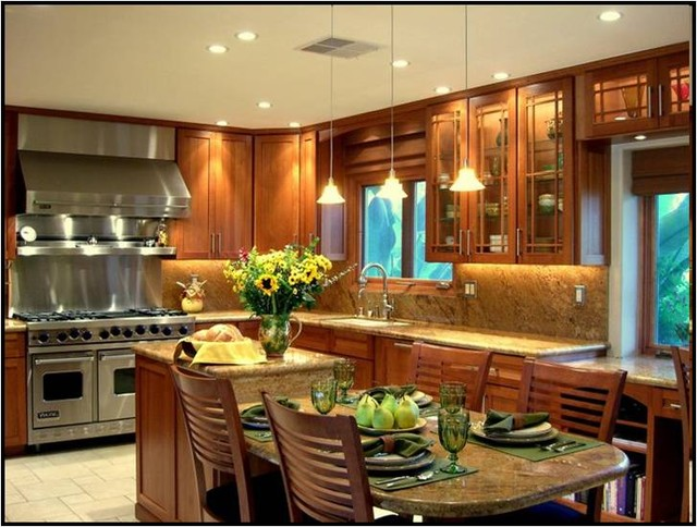 Porter Ranch contemporary-kitchen