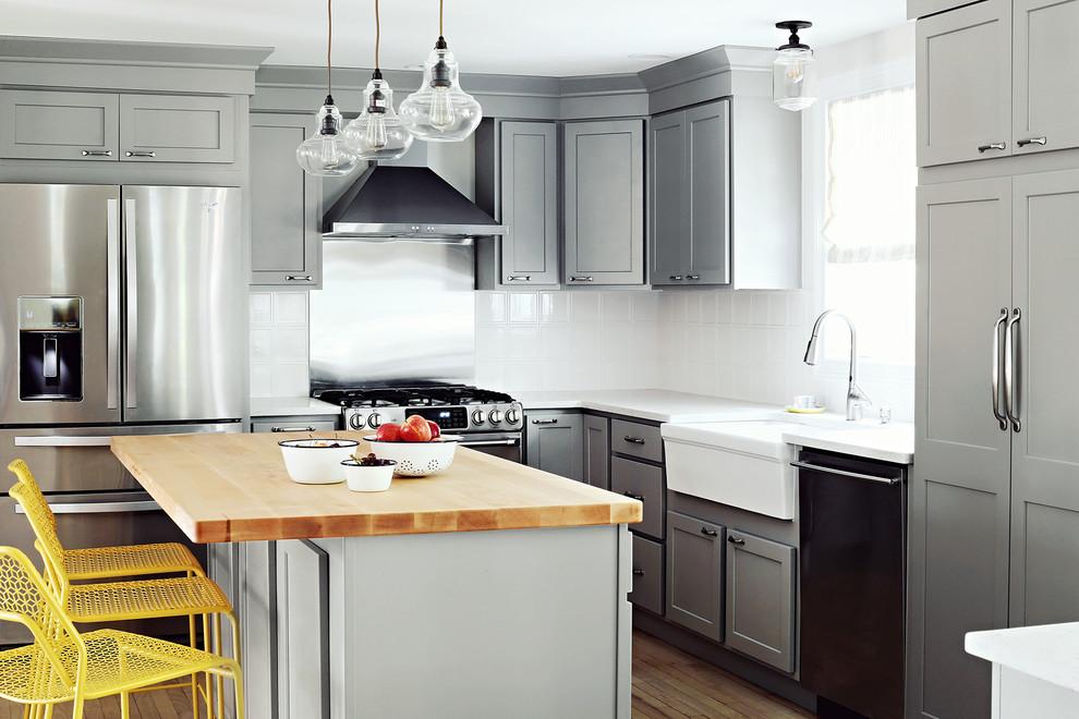Portland Kitchen - Transitional - Kitchen - Portland Maine ...