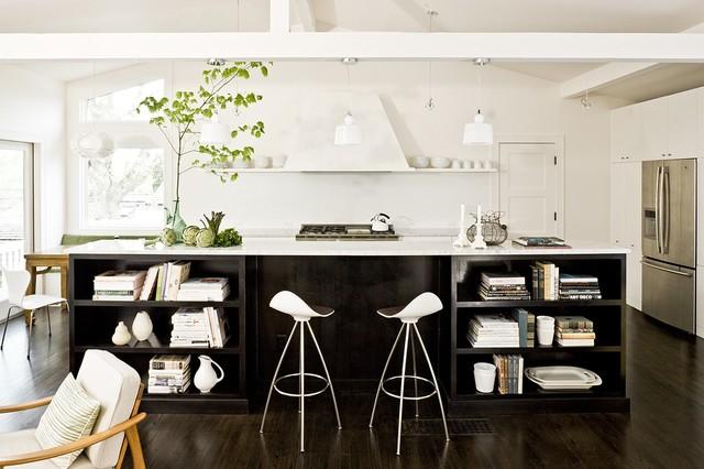 Portland Modern Mix midcentury-kitchen