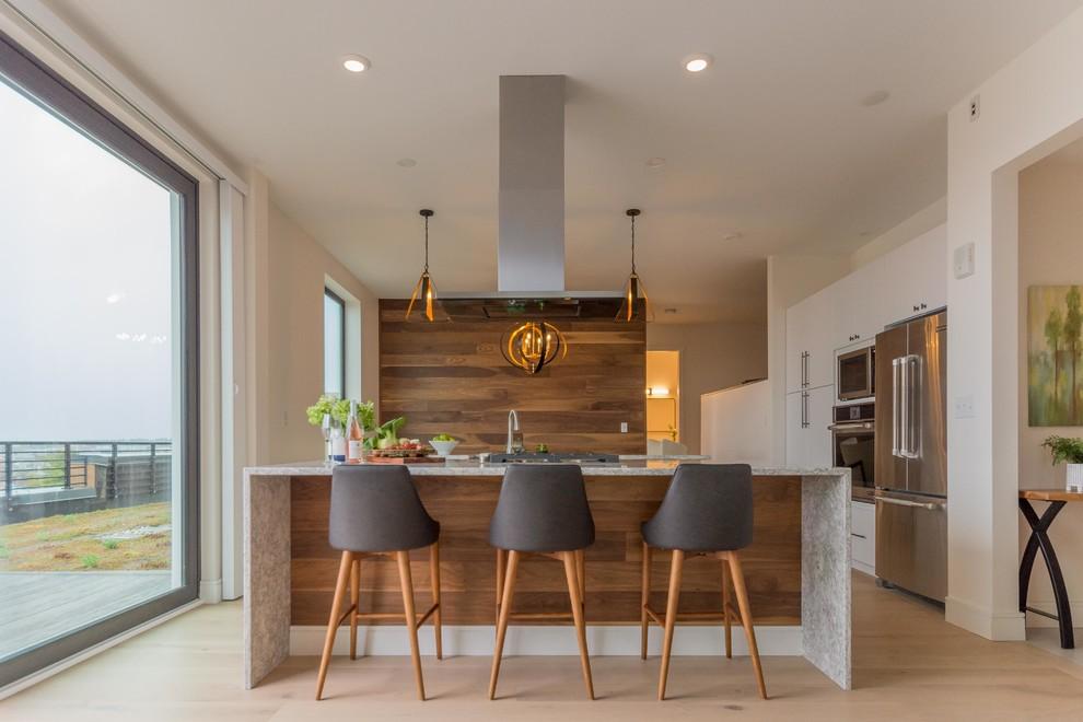 Portland Penthouse - Contemporary - Kitchen - Portland ...