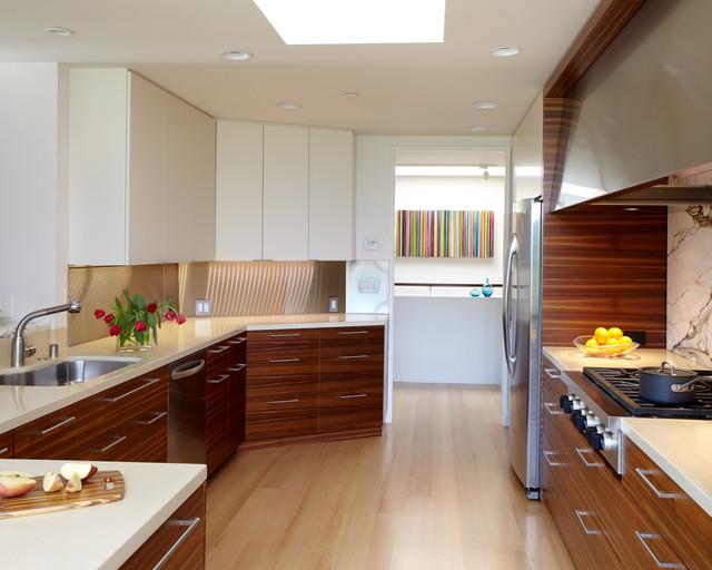 Portola Valley Remodel modern-kitchen