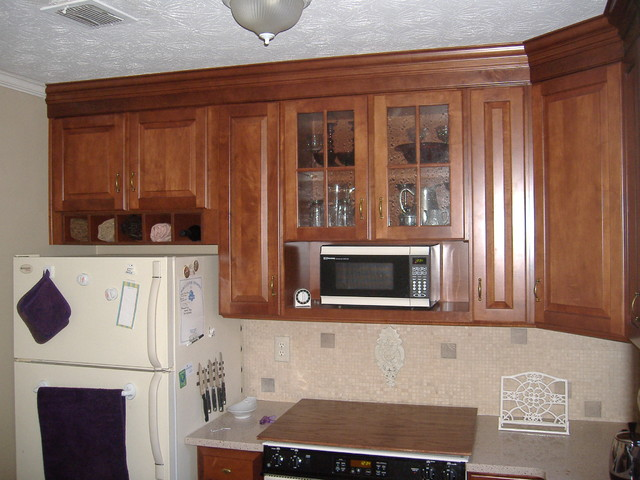 Portsmith Maple Square In Chestnut Finish By KraftMaid ...
