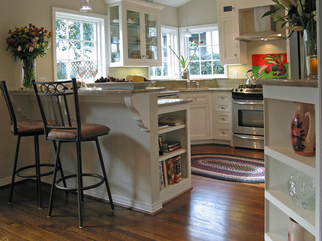 Post WWII Rambler Kitchen Remodel - Traditional - Kitchen ... Rambler Home Remodeling Ideas on cape cod remodeling ideas, ranch style house additions ideas, colonial remodeling ideas, contemporary remodeling ideas, custom remodeling ideas, mobile home landscaping ideas, low ceiling basement remodeling ideas,