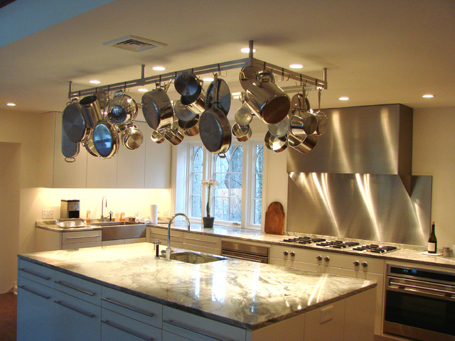 Pot Rack Modern Kitchen
