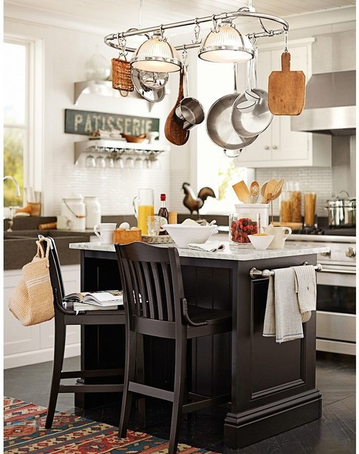 Pottery barn for Barn kitchen designs