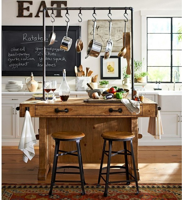 Pottery barn for Pottery barn style kitchen ideas