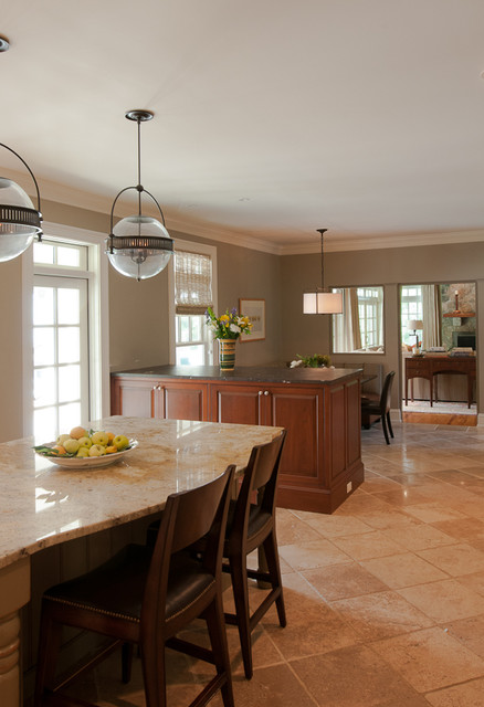 Pound Ridge traditional-kitchen