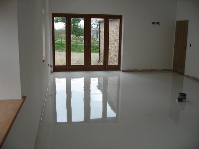 Poured Resin Flooring
