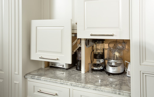 seeking creative ways to hide your kitchen appliances?