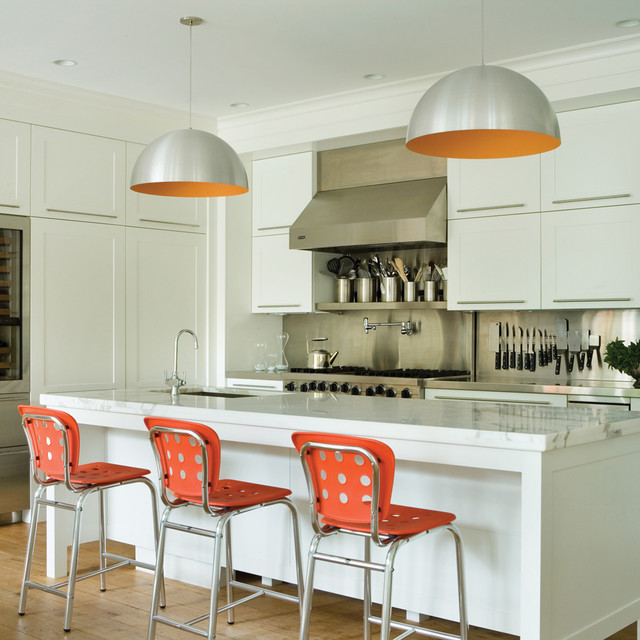 Powell St Suspension Contemporary Kitchen Other