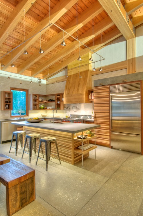 LEED Certified Kitchen-Mission Stone Tile