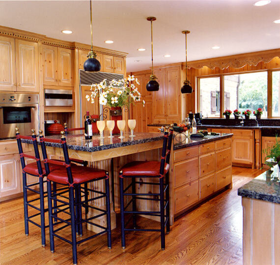 Power of Color eclectic-kitchen