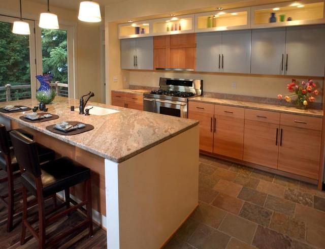 Prairie Lane - Contemporary - Kitchen - milwaukee - by Mitch Wise ...