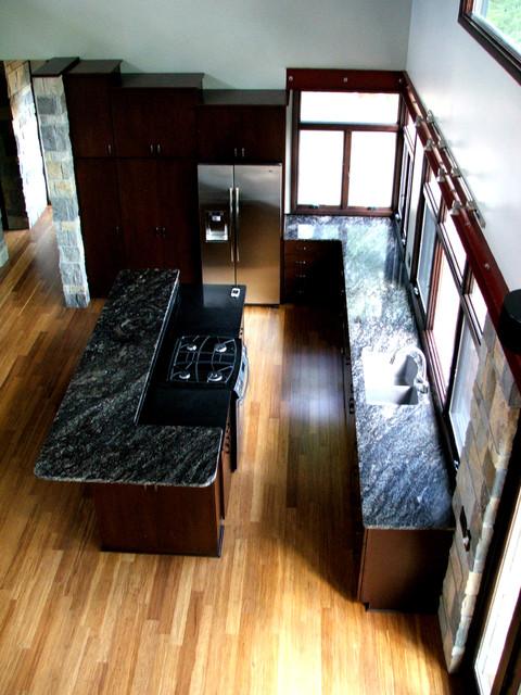 Prairie Residence - Kingman traditional-kitchen