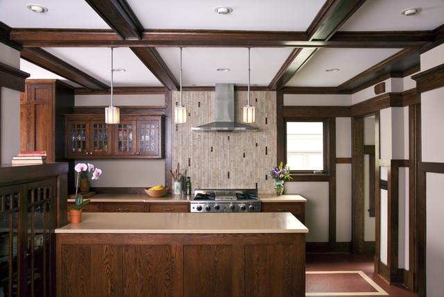 Prairie Style Addition & Kitchen - Kitchen - Traditional - Kitchen ...