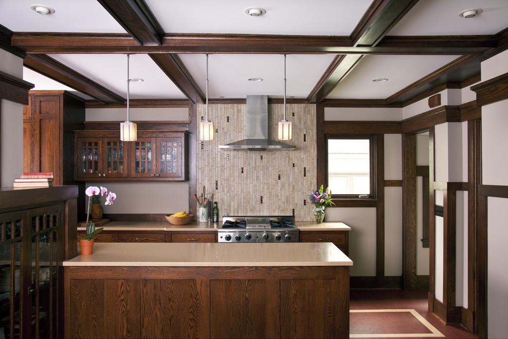Prairie Style Addition & Kitchen - Kitchen - Traditional ...
