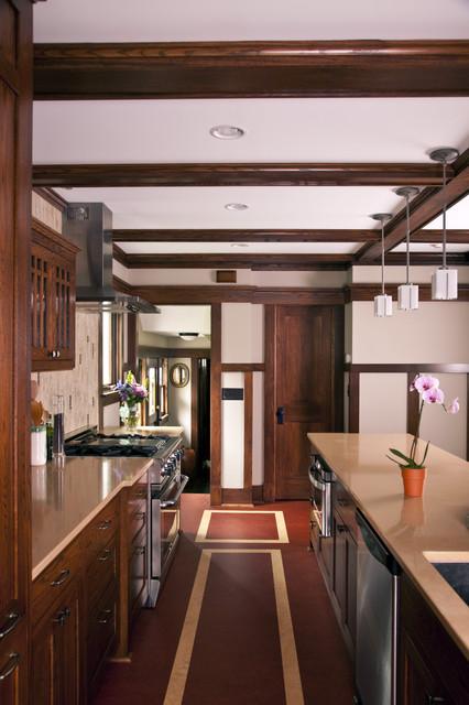 Prairie Style Addition & Kitchen - Kitchen traditional-kitchen