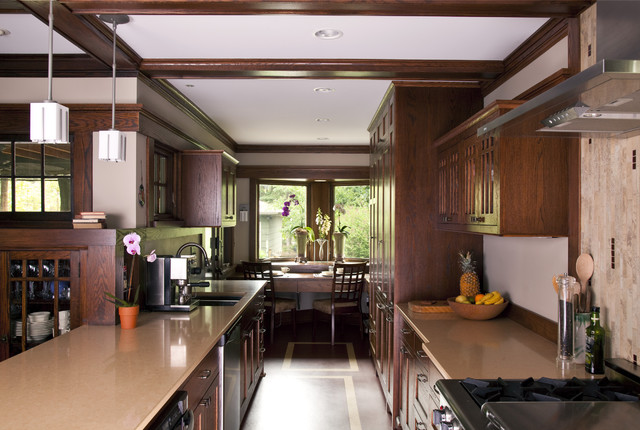 Prairie Style Addition Kitchen Kitchen Traditional Kitchen Minneapolis By Trehus