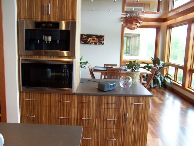 Prairie style contemporary contemporary kitchen for Prairie style kitchen