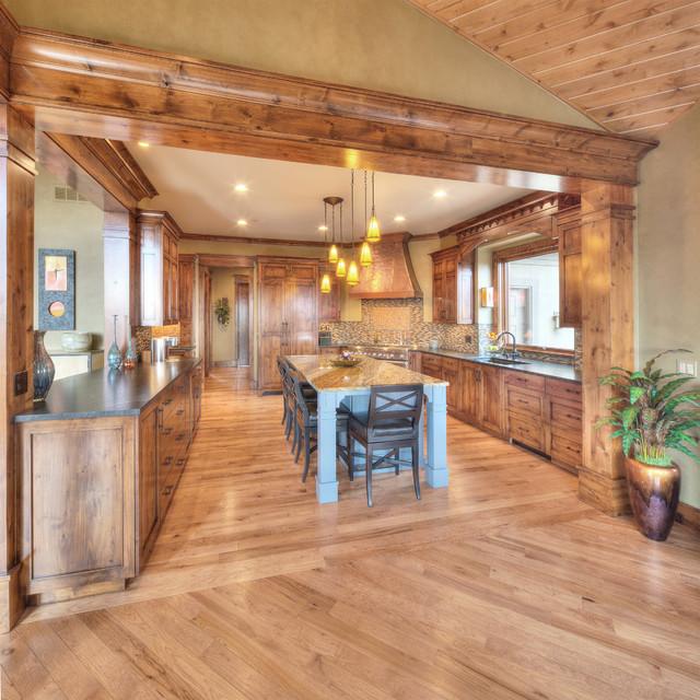 Prairie Style in Reserve craftsman-kitchen