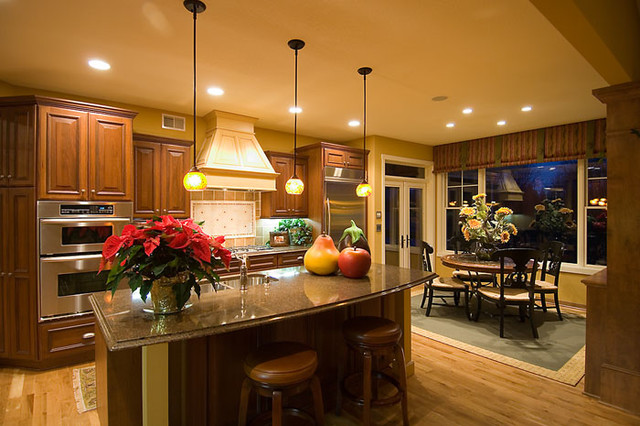 Pratt Homes traditional-kitchen