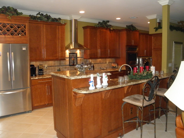 Pre-2013 Completed Jobs traditional-kitchen
