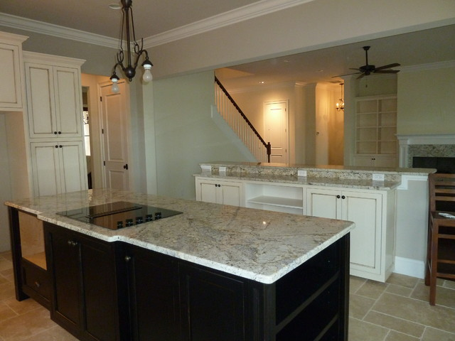 Precision Granite Completed traditional-kitchen