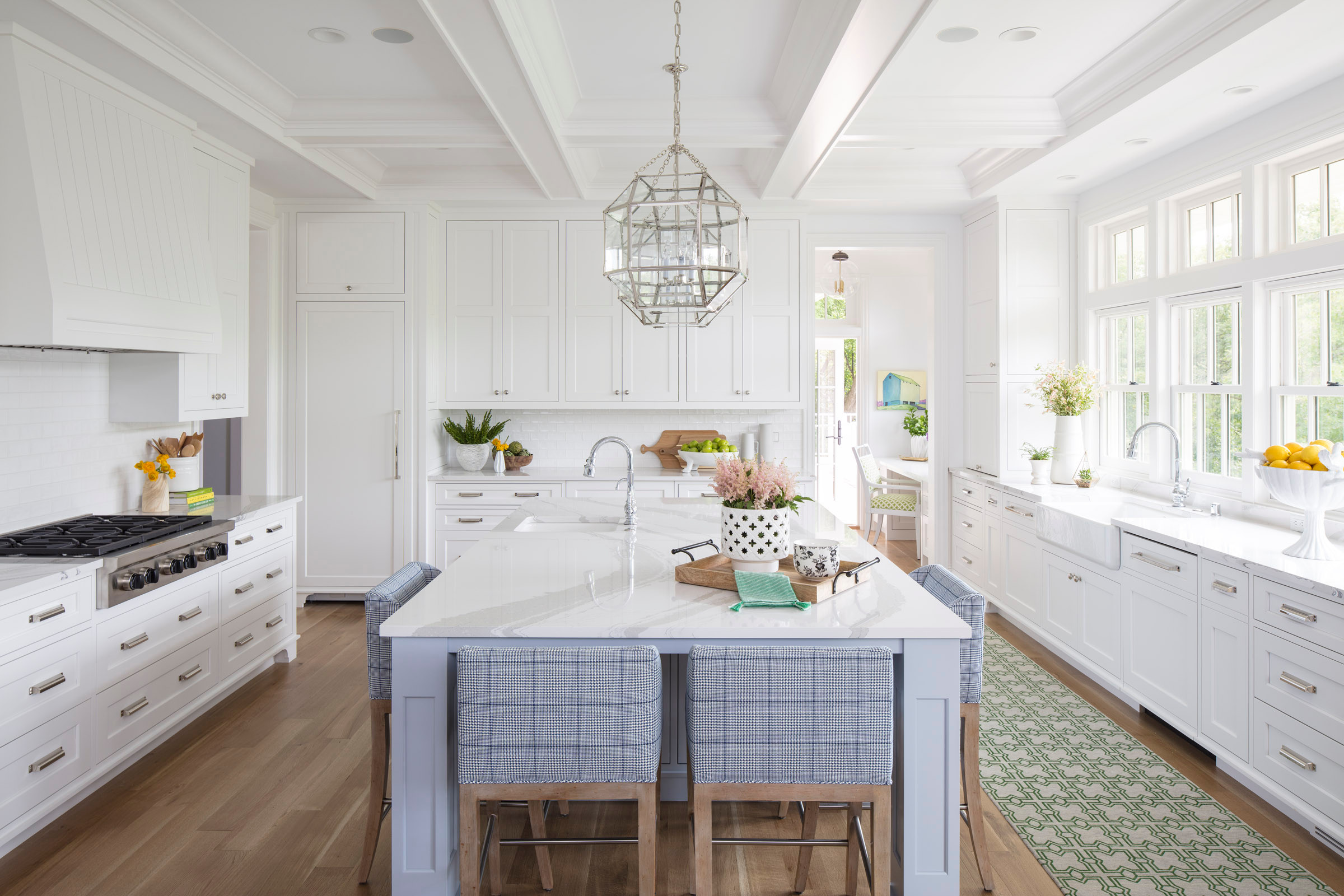 75 Beautiful Coffered Ceiling Kitchen Pictures Ideas January 2021 Houzz