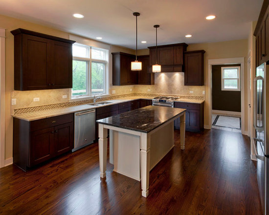 Model home kitchens home design ideas pictures remodel for Model home kitchens