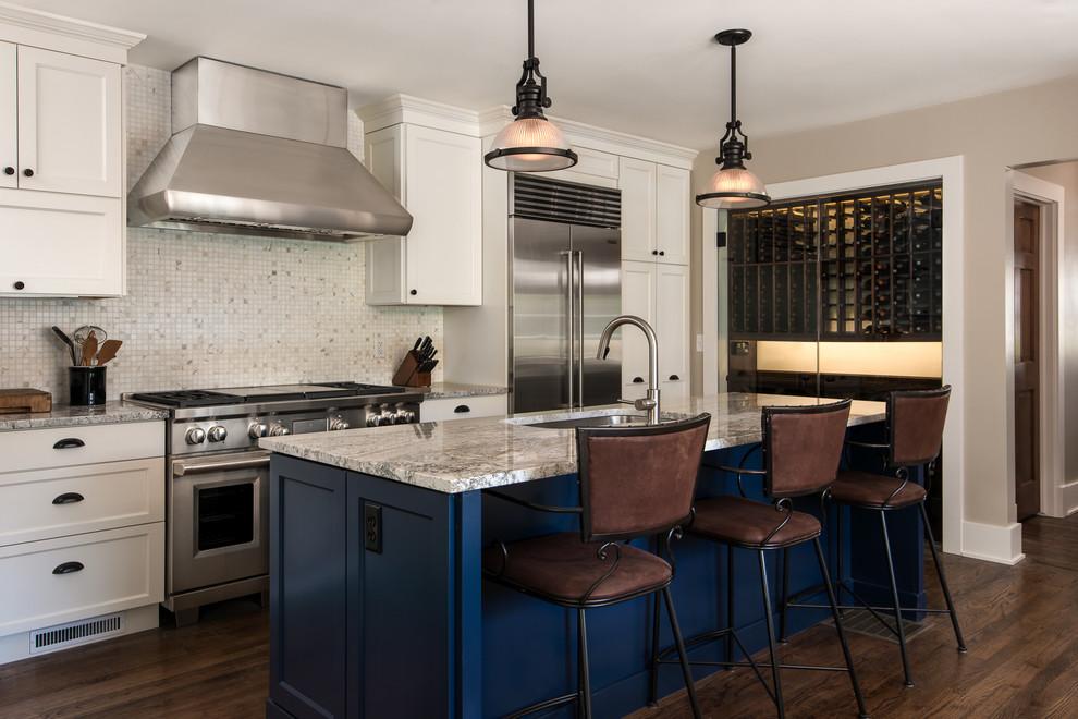 Prescott - Transitional - Kitchen - Detroit - by Vinewood ...