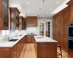 Presidio Heights Residence traditional-kitchen