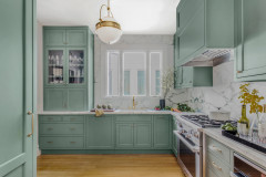 New This Week: 8 Kitchens With Gorgeous Green Cabinets