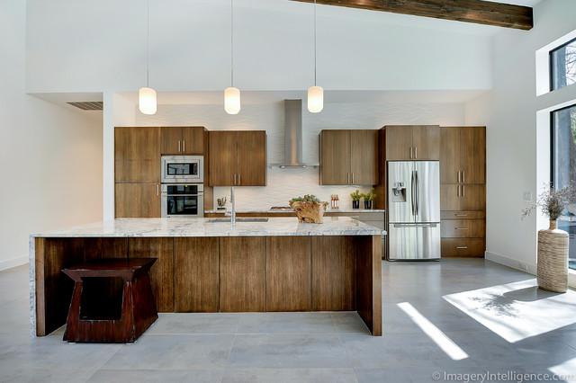 Preston Creek Project Contemporary Kitchen Dallas By Classic Urban Homes
