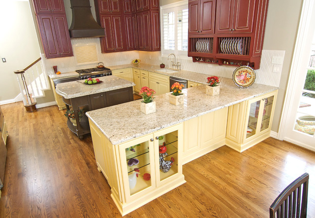 Farmhouse Kitchen Traditional Kitchen Dallas By Kitchen Design Concepts