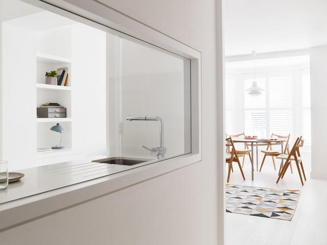 Primrose Hill Apartment Shabby Chic Style Kitchen