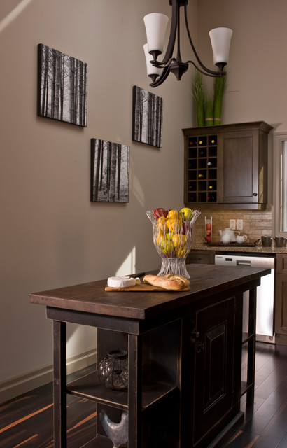 Princess Magaret 2010 - Cindy Roth Design rustic-kitchen
