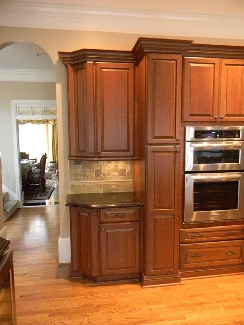 Bronze With Ebony Glaze By Schuler Cabinetry  Traditional  Kitchen