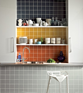 Prismatics Kitchen Tiles