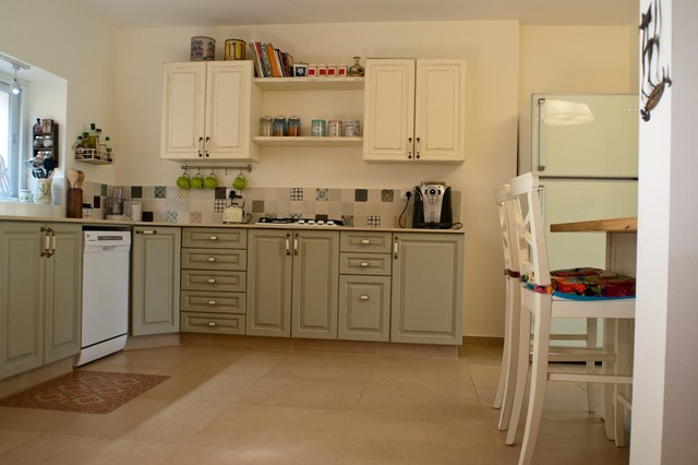 Private Home Kohav Yaair eclectic-kitchen