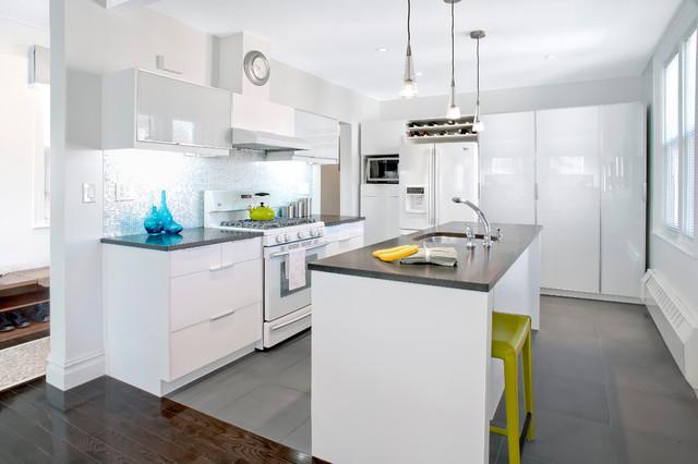 Private House, Bronx contemporary-kitchen