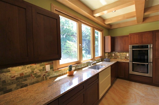 Private NEW CONSTRUCTION German-Inspired GREEN Home for Sale in Cleveland, Ohio contemporary-kitchen