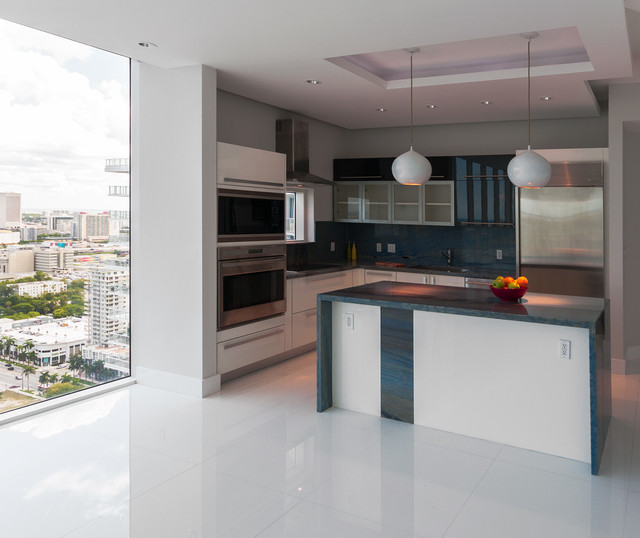 Modern Kitchen Cabinets Miami: Private Residence At Paramount Bay