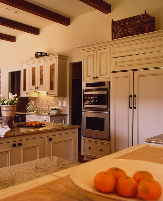 Private Residence, Carmel Valley, California traditional-kitchen