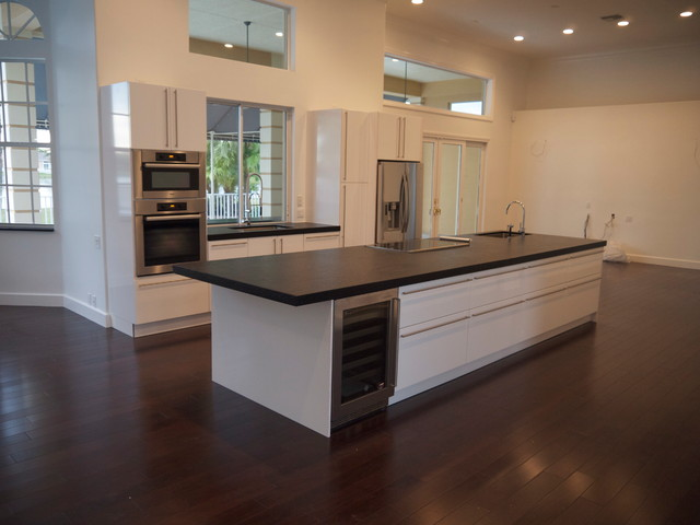 Private Residence Coral Springs contemporary kitchen