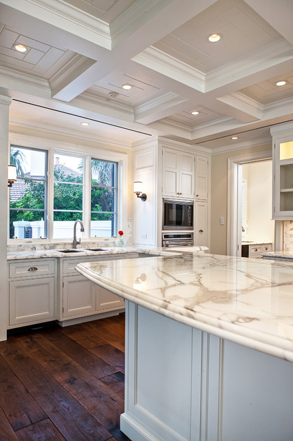 Private residence in St.John's Island, FL traditional-kitchen