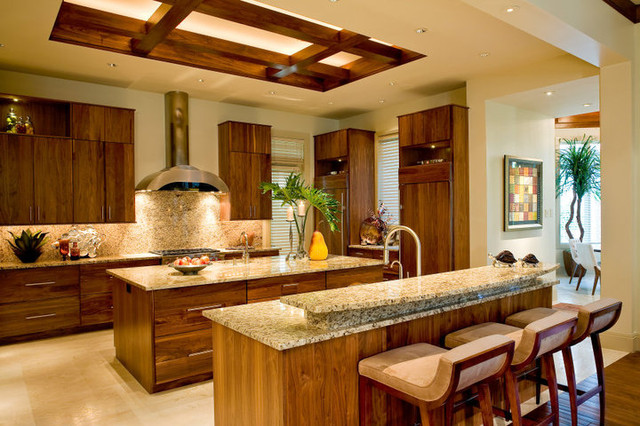Private Residence - Old Naples, Florida contemporary-kitchen