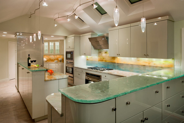 Private Residence Sea Shore East Coast Beach Style Kitchen New York