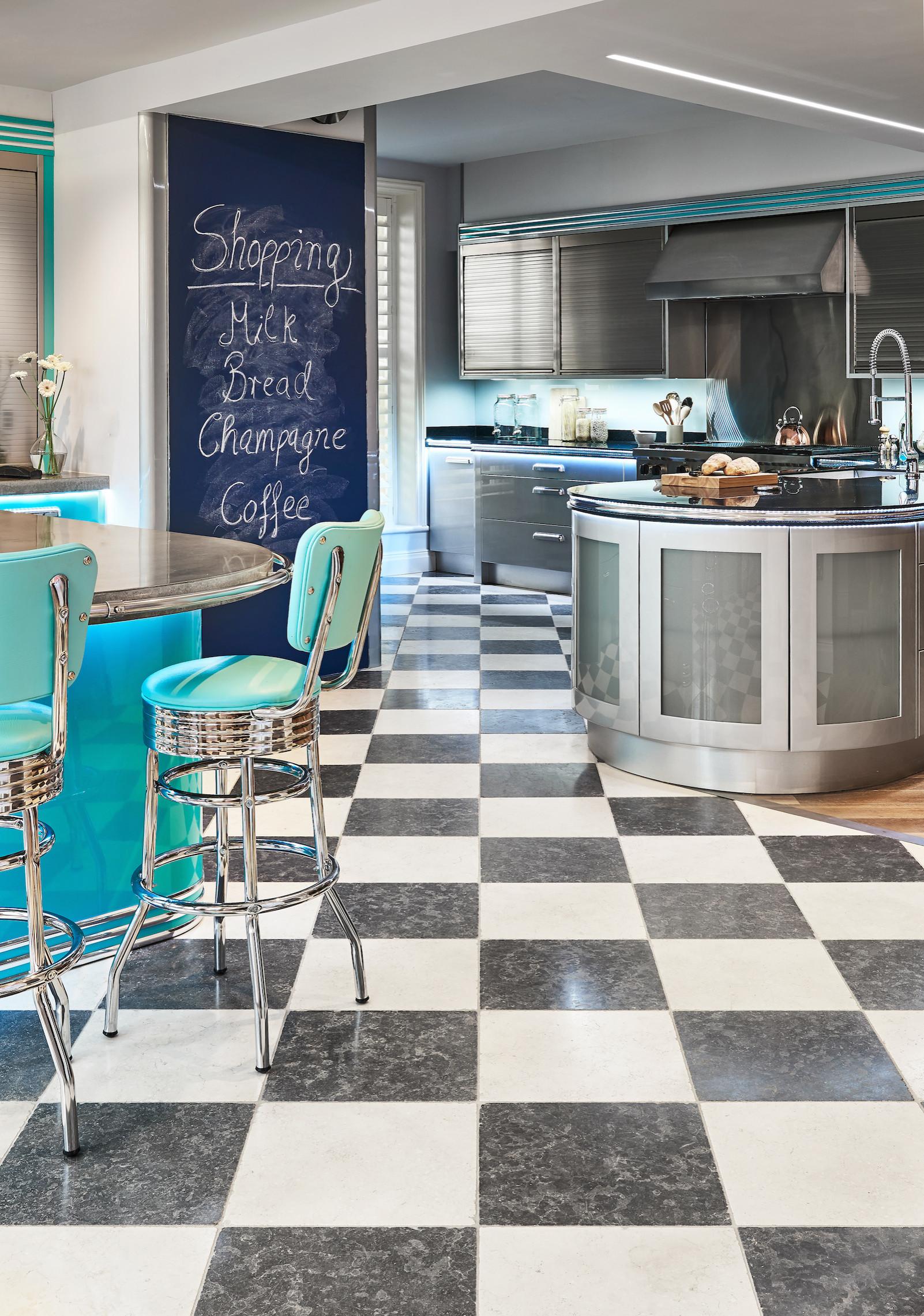 50s Diner Kitchen Ideas Photos Houzz