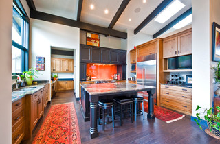 Private Residence Traditional Kitchen Calgary By Sticks And Stones Design Group Inc